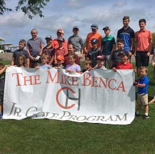 Mike Benca Junios Golf Program