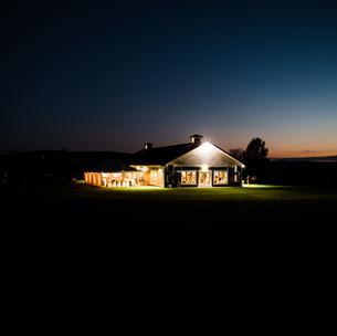 Event Center at Night