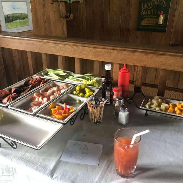 Bloody Mary Bar