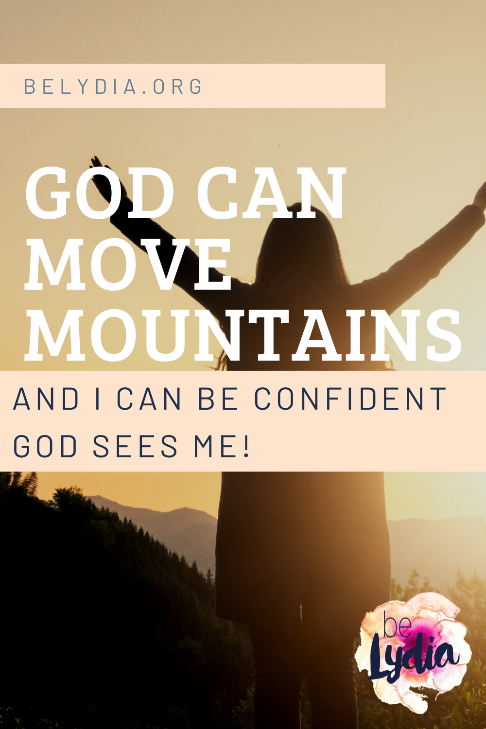 Have you wondered does God see me and if He does, what does He think of me? It is easy to feel small in a world full of amazing people. But you can be confident that God sees YOU!