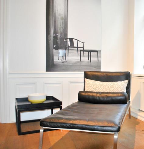 Project creatie van een gezellige lounge plek.