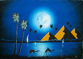 "Alladin: ""Moonrise over the Nile"""