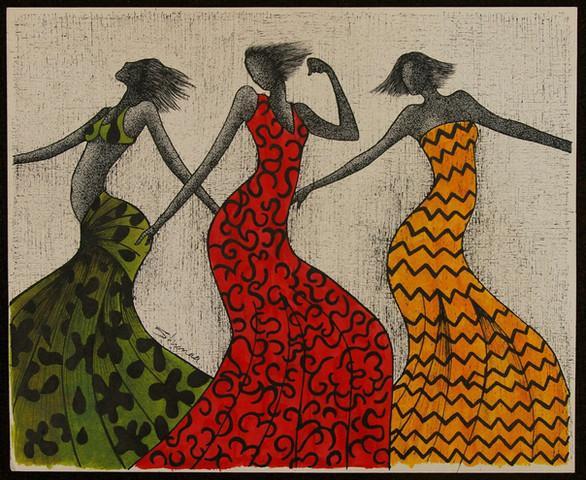 """Shimaa: """"Nubian Women"""""""