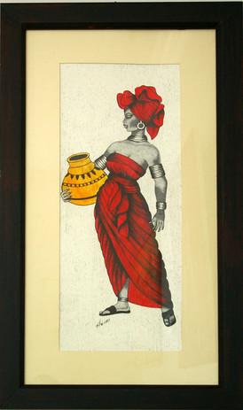 "Shimaa: ""Nubian Woman with Olla"""