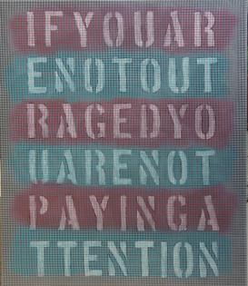"""Frank Emmert: """"Be Outraged!"""""""