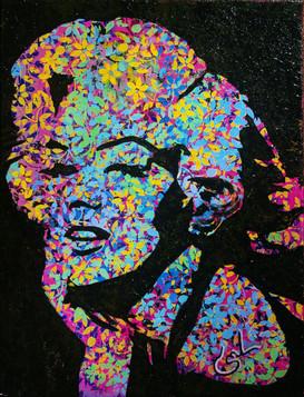 "Salma Taman: ""Marilyn in Black"""