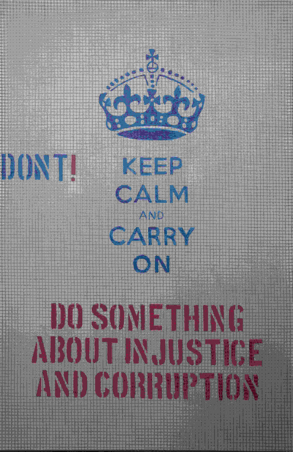 """Frank Emmert: """"DON'T Keep Calm, DO SOMETHING!"""""""