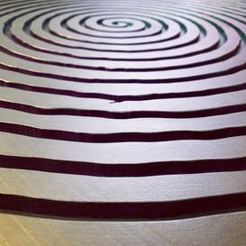 "Frank Emmert ""Spiral Jetty - Home Edition"" (Detail)"