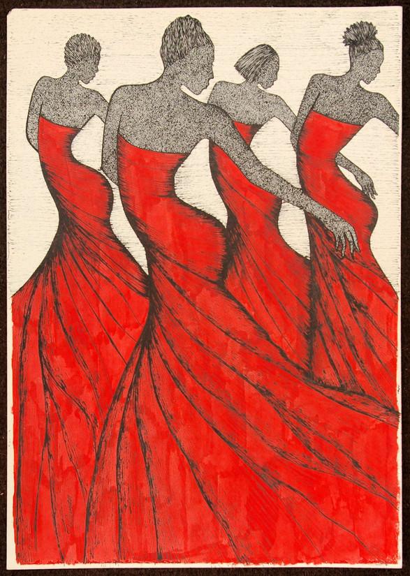 """Shimaa: """"Nubian Dancers"""""""