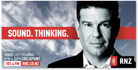 RNZ Billboard with John Campbell