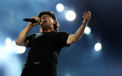 Brian Johnson from AC\DC playing in Auckland