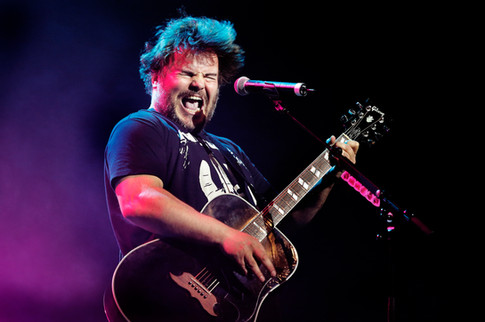 Jack Black from Tenacious D live in Wellington