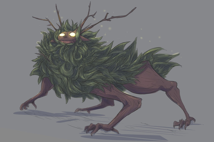 'Rooted' beast design (2020)