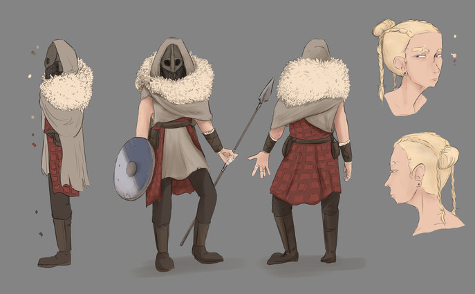 Original character design for class project