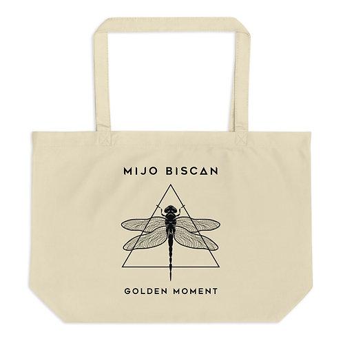 Dragonfly - Large organic tote bag