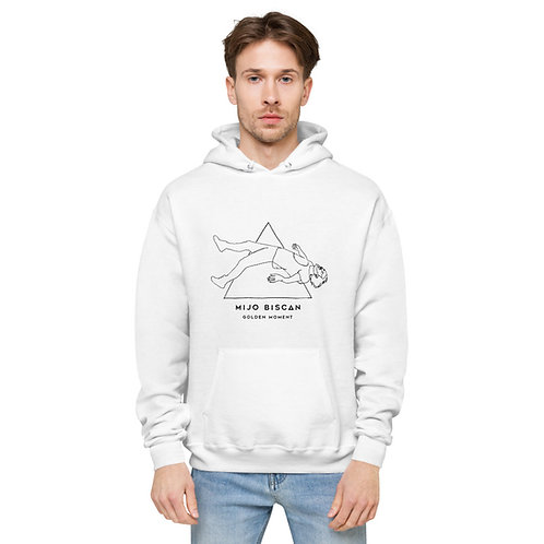 Floating Mijo Drawn - Light Ecosmart Hoodie - White/Grey