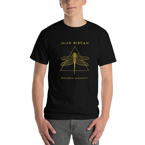 Dragonfly Gold - Black T-Shirt