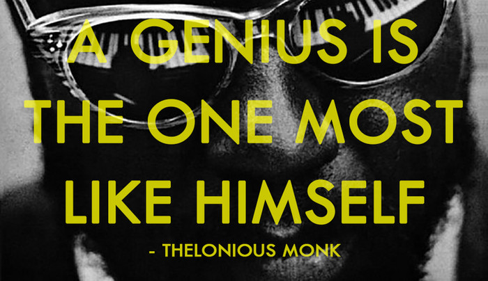 Thelonious Monk's notes to other musicians