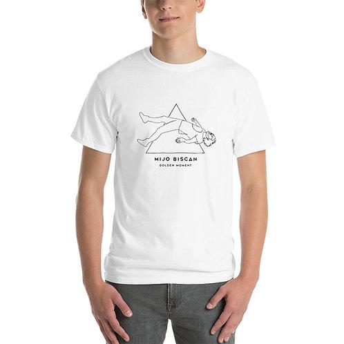 Floating Mijo Drawn - Light T-Shirt - White/Grey/Yellow
