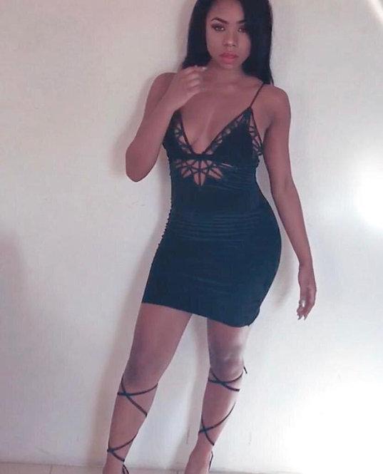 Liberty Velvet Dress