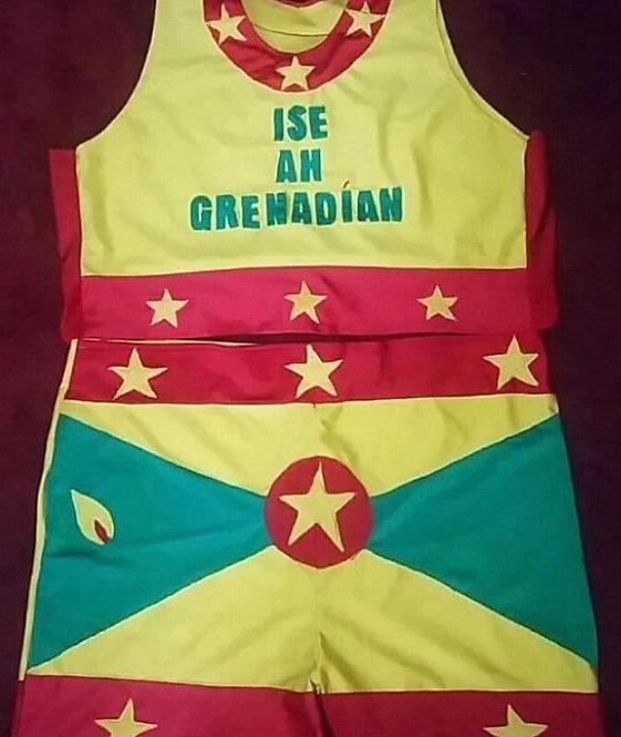 ' Ise ah Grenadian ' Two Piece