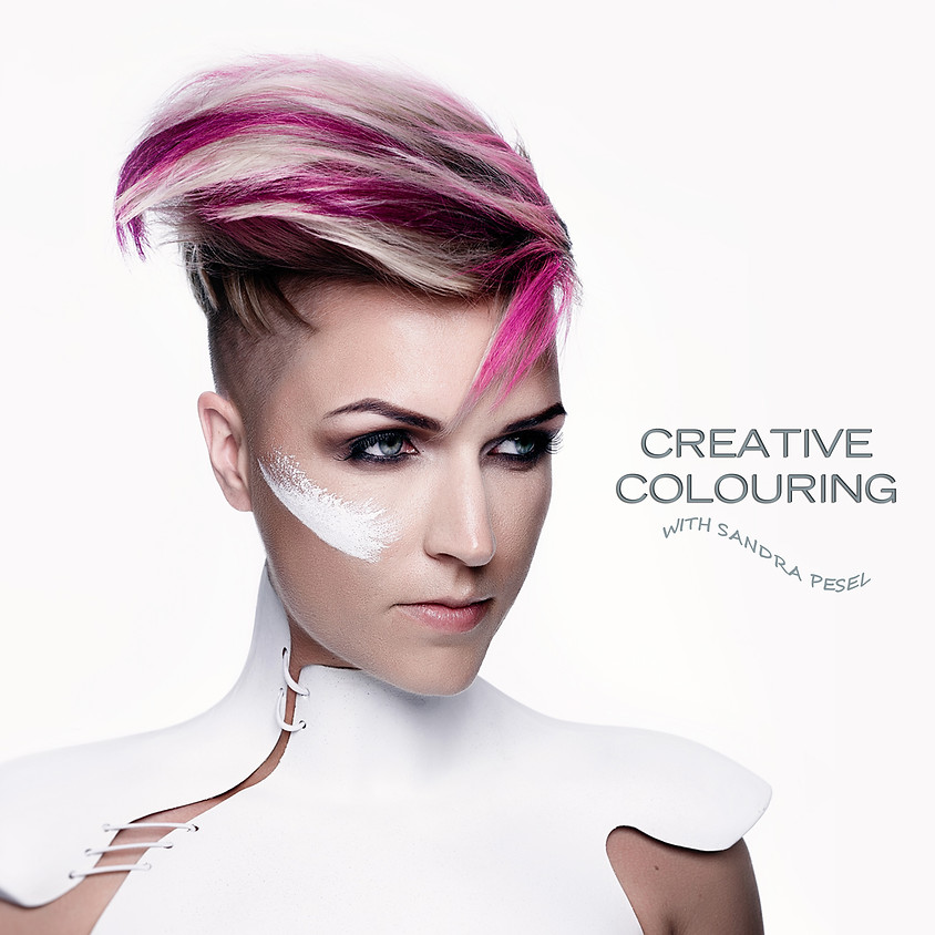 CREATIVE COLOURING with Sandra Pesel