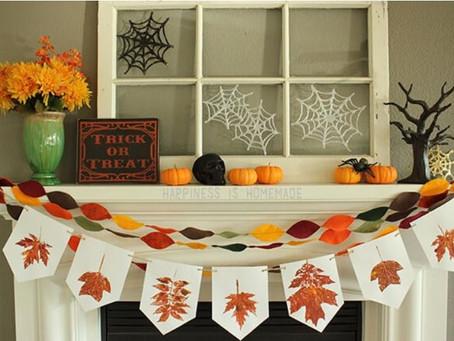 Осенние поделки для школы, садика и любимого дома.