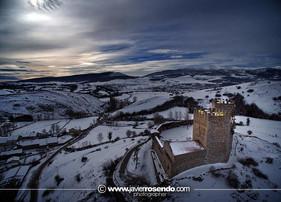 El Castillo de Argüeso a vista de pájaro...Impresionante, ¿o no?