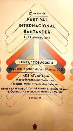 64 EDICIÓN FESTIVAL INTERNACIONAL DE SANTANDER. MARCOS HISTÓRICOS