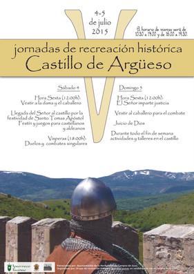 V JORNADAS DE RECREACIÓN HISTÓRICA CASTILLO DE ARGÜESO 2015