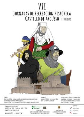 1 y 2 de julio 2017: VII JORNADAS DE RECREACIÓN HISTÓRICA CASTILLO DE ARGÜESO 2017