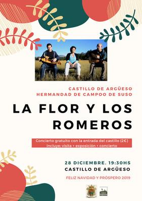 """Concierto de """"La Flor y los Romeros"""" 28- 12- 2018"""