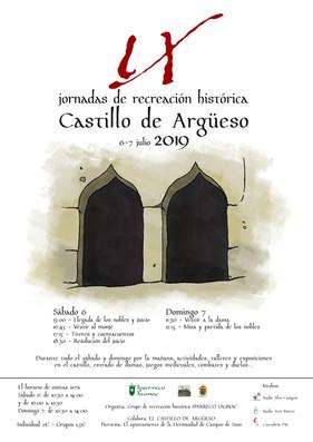 IX JORNADAS DE RECREACIÓN HISTÓRICA, 6 Y 7 DE JULIO 2019