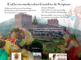 Talleres Medievales: el sábado 21 de julio de 2018