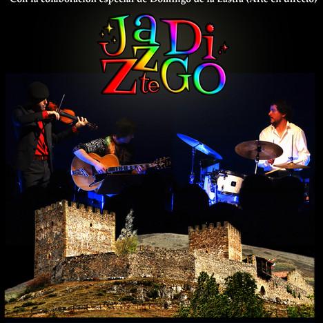 """CONCIERTO de """"JAZZTEDIGO"""". Sábado 13 de julio de 2019 (20 hs)"""
