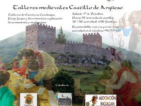 Sábado 29 de octubre: Jornada de Talleres Medievales