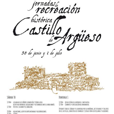 VIII Jornadas de Recreación Histórica Castillo de Argüeso 2018