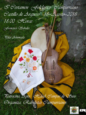 I Certamen Folclórico Campurriano. 18 de Agosto