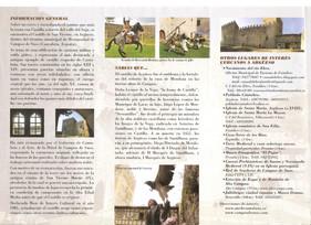 Folleto e Información del Castillo de Argüeso