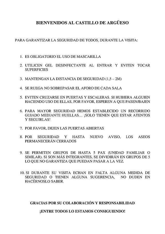 COVID-19. MEDIDAS DE SEGURIDAD