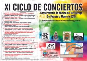 CONCIERTO CONSERVATORIO DE MÚSICA DE TORRELAVEGA. 17 de Abril 2019