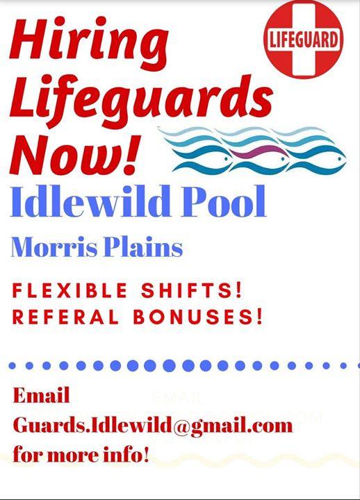 GET WORKING THIS SUMMER _ IDLEWILD POOL!