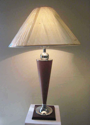 TABLE LAMP & SHADE