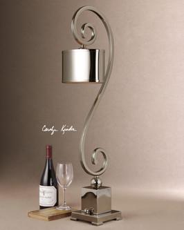 SUSALINA METAL OVAL LAMP