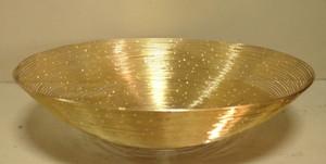 ACB LD 8990-020   MEDIUM GOLD SPRAY BOWL