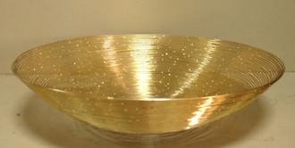 MEDIUM GOLD SPRAY BOWL