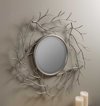 YVES BRANCHES BEVELED MIRROR