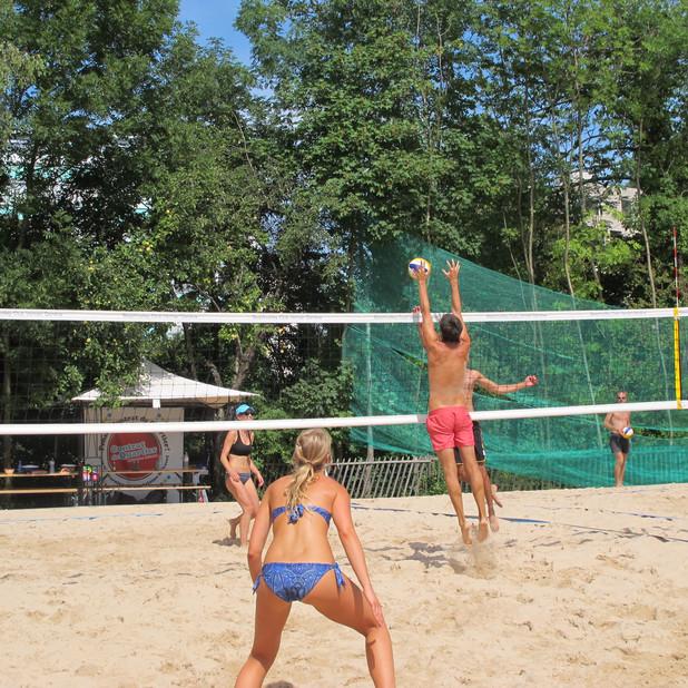 Photos du tournoi mixte du 1er août en ligne