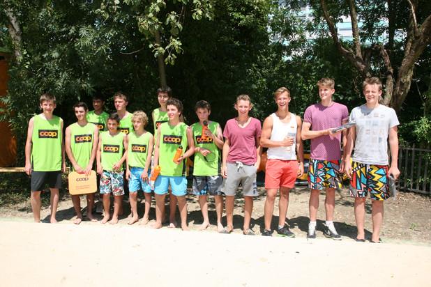 Tournois U17, 7 juillet 2013