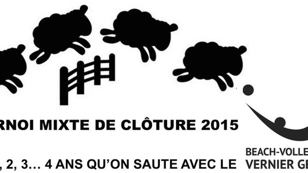 Tournoi mixte de clôture 2015